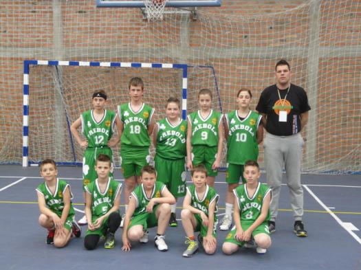 Košarkarski turnir selekcije U13